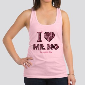 I Love Mr. Big Sex And The City Racerback Tank Top